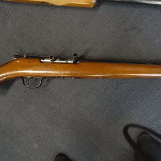 Sawn off .22 rifle