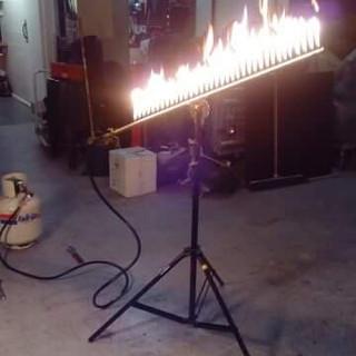 Heat shimmer/flame bar