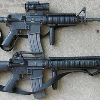 M4 amd M16 A3