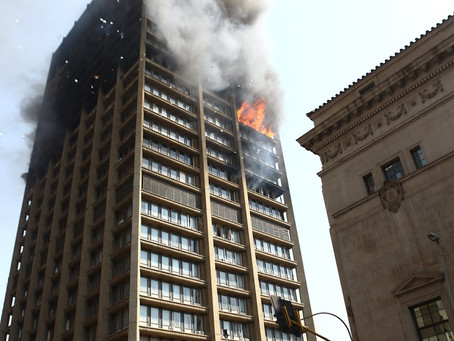 SOWETAN LIVE: JOBURG FIRRE: 'PAPER AND BOXES WERE STUFFED IN DUCTS'