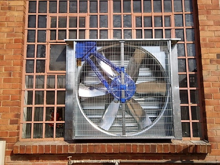 FANS USED IN MECHANICAL VENTILATION