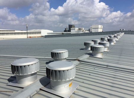PINNACLE ROOFTOP TURBINE'S, INDUSTRIAL ROOF VENTILATION SYSTEMS