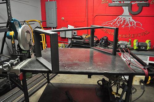 Custom Heavy Duty Steel Table Bases