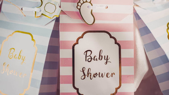 Pochette Baby Shower