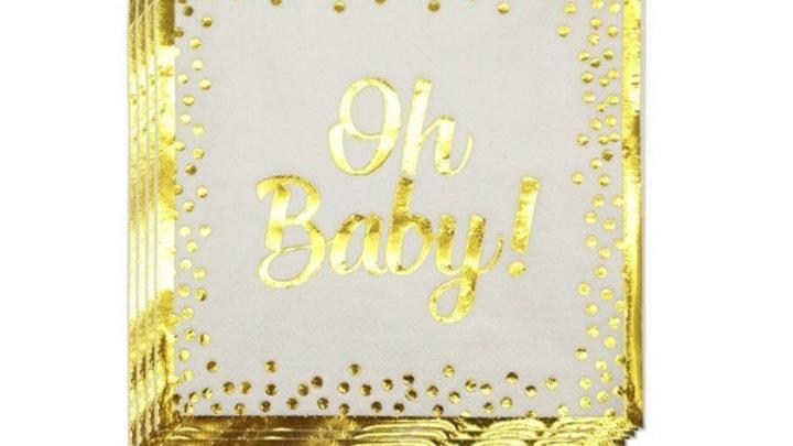 """Serviettes """"Oh Baby"""""""