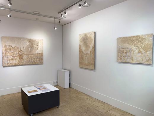 François Machado - vue de l'exposition