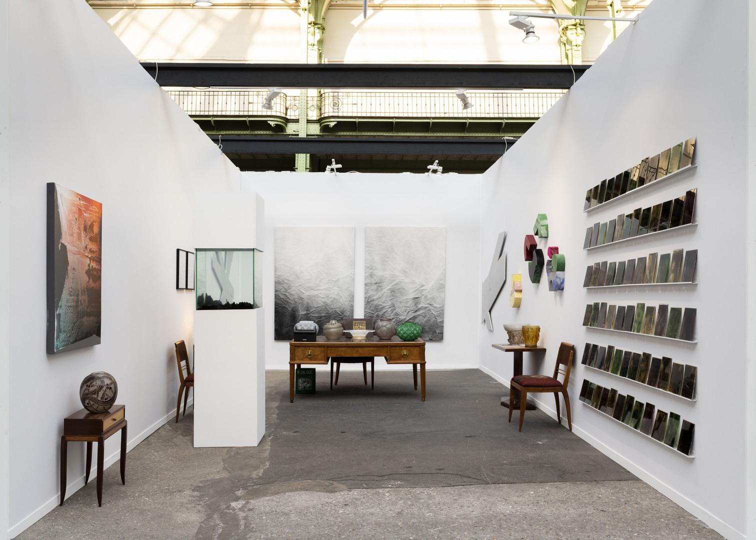 Stand Galeries Faure Beaulieu & BG Arts Art Paris