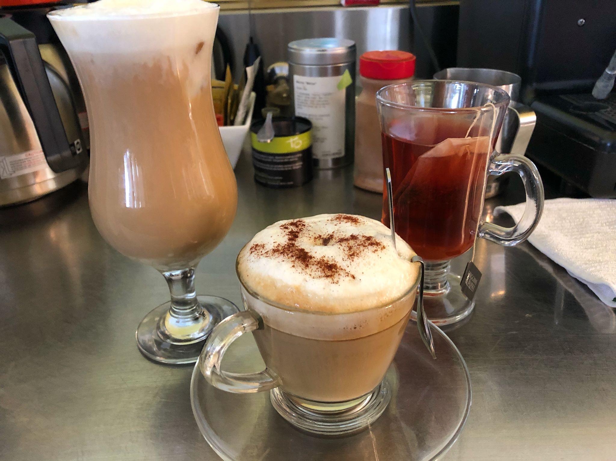 Cappuccino & Latte's
