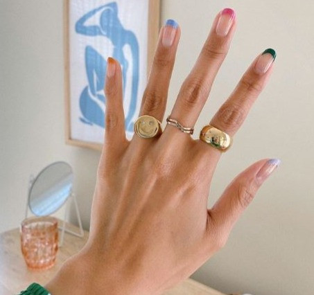 INTRODUCING THE PASTEL NAIL TREND WE'LL ALL BE BOOKING IN FOR POST-LOCKDOWN
