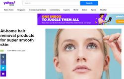 Yahoo | At-home hair removal