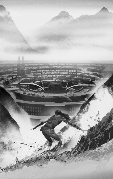 'Edgedancer' By Brandon Sanderson cover Artwork / Orion Publishing and Golancz