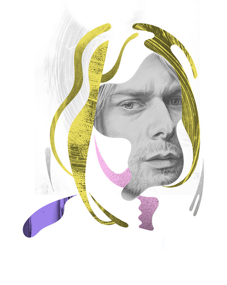 Kurt Cobain for L'optimum magazine