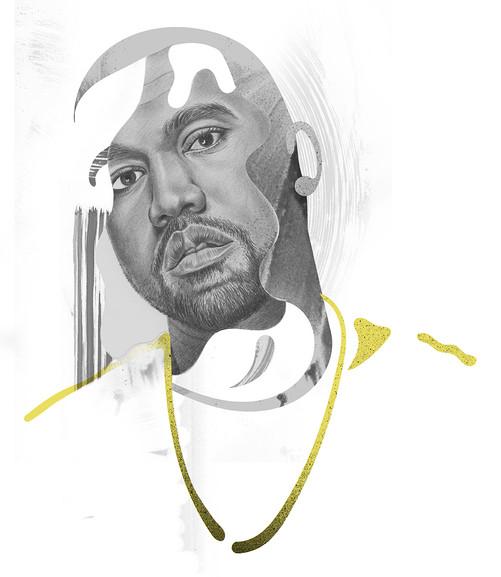 Kanye West for L'optimum magazine