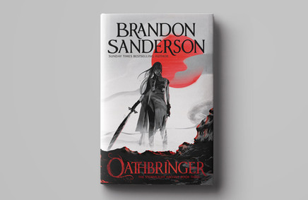 'Oathbringer' By Brandon Sanderson / Orion Publishing and Gollancz
