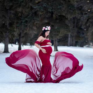 Jyoti Maternity session Saskatoon