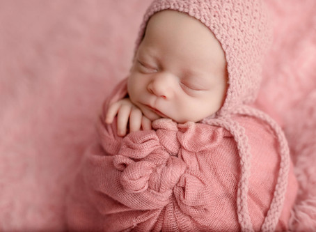"Saskatoon Newborn Photographer Miss ""O"""