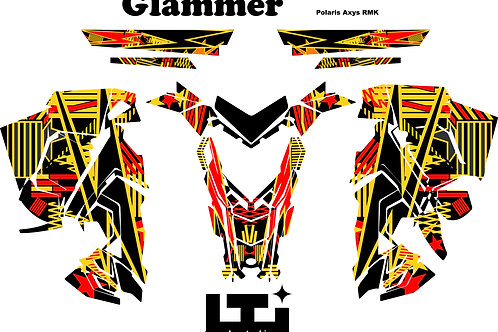 Glammer Scales Graphics Kit
