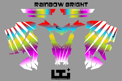 Rainbow Bright Graphics Kit