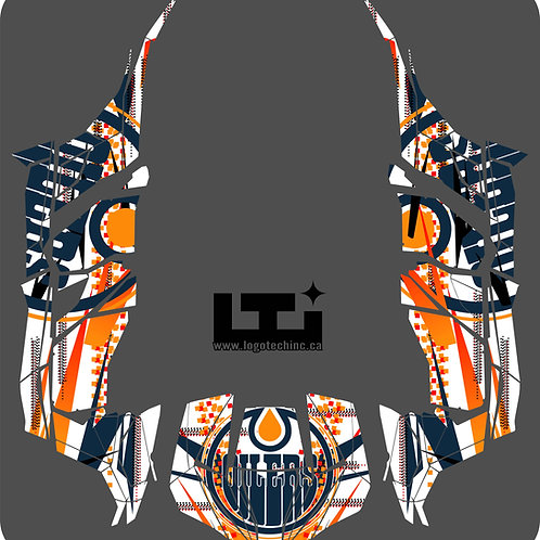 Oilers Graphics Kit