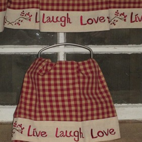Live Laugh Love Berry Hand Towel