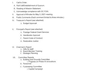 LABCS Board Meeting - 6-7-21