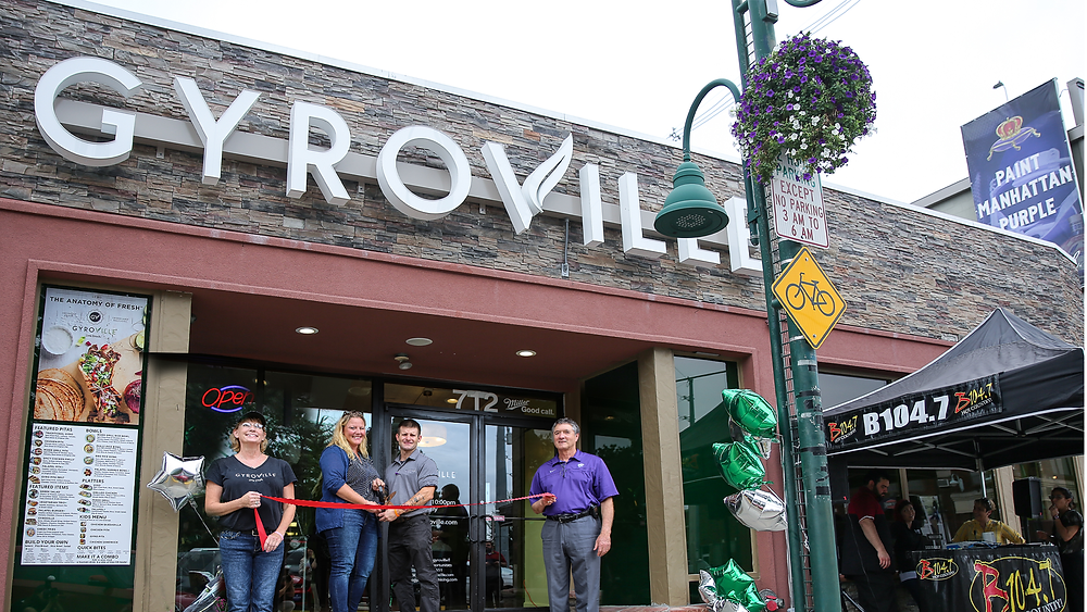 Gyroville Opens to Record Crowds in Aggieville Mediterranean-inspired, build-your-own plate concept Celebrated its  Grand Opening in Manhattan, Kansas