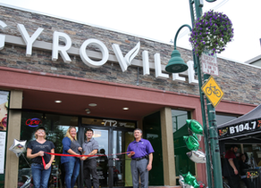 Gyroville Opens to Record Crowds in Aggieville