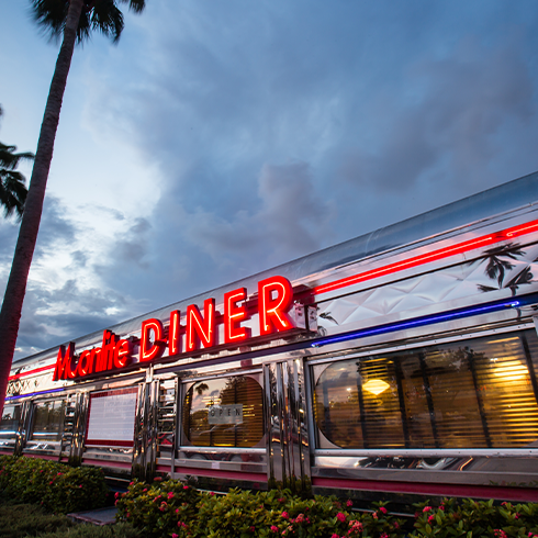 WANT TO FILM OR TAKE PHOTOS? Are you looking to make a commercial, movie, music video, or just take photos?  Trying to find that perfect location with a lot of personality?     Any of our Moonlite Diner locations can be available.    Please contact us to get more information on availability and prices.