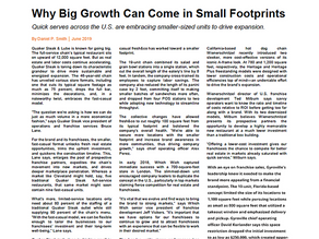 Why Big Growth Can Come in Small Footprints