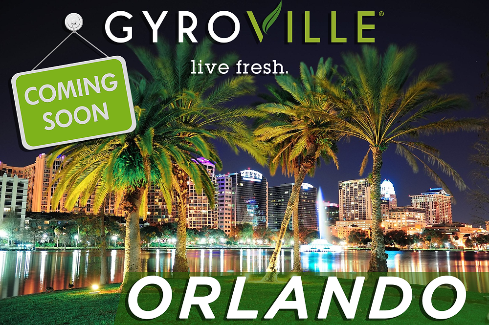 South Florida's Gyroville Bringing Greek-Inspired, Build-Your-Own-Plate Concept (with a Modern Twist) to Orlando