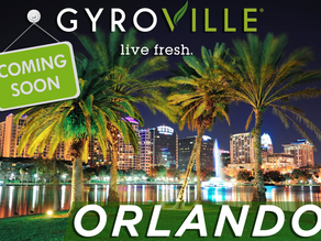 Gyroville Bringing Greek-Inspired, Build-Your-Own-Plate Concept (with a Modern Twist) to Orlando
