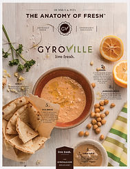 Company History   Owner and founder, Lambros Kokkinelis utilized his years of culinary and hospitality experience and combined that with the rich tradition of his family's recipes and work ethic to create Gyroville.     The first Gyroville opened in January 2010 in Ft. Lauderdale, Florida. Initially, it was known as Mr. Gyros until the opening of the second restaurant in Pembroke Pines, Fl. In November 2010 it became known as Gyroville. Gyroville was borne out of the need for less expensive – yet still healthy and fresh – dining options. Mr. Kokkinelis has proven to himself, potential investors and employees that the business would profit in both good and bad economic environments. This was really the cornerstone of his thought process when he founded this Greek restaurant franchise.