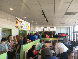 Gyroville, a build-your-own Mediterranean fast casual restaurant, has added a third franchise location to its roster. Franchisee Anthony Nohra owns the restaurant located at 6341 N. Andrews Rd. in Fort Lauderdale, Florida, which was previously a corporate-owned location.