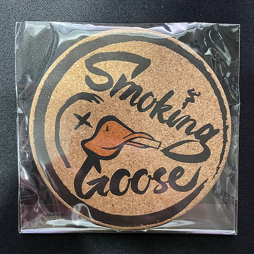 Smoking Goose Coaster