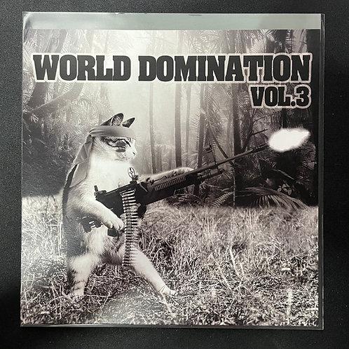 """World Domination Vol.3"" 7인치 LP+MP3"