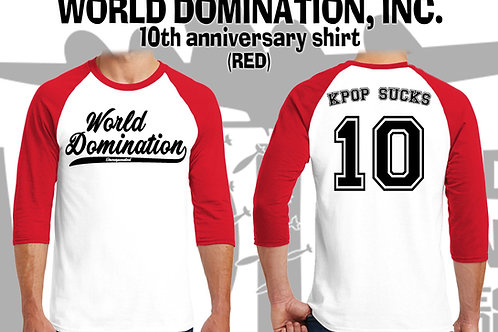WDI 10-Year Baseball Shirt