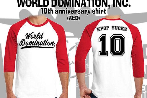 WDI 10주년기념 레글런티셔츠