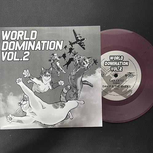 """""""World Domination Vol.2"""" 7-inch Record+MP3"""