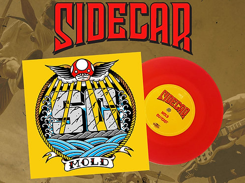 """사이드카의 EP """"MOLD"""" 7인치 바이널 (LP) (WDI018)"""