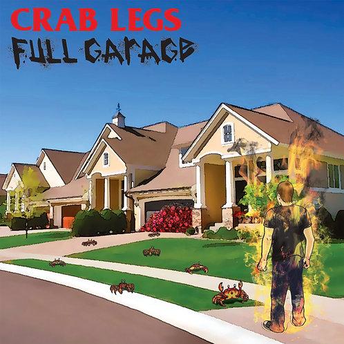 크랩레그스/풀가라지 스플릿 7인치 바이닐 (LP)