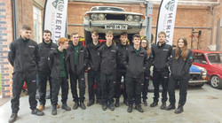 Apprentices at Heritage Skills Academy, Bicester