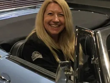 Janice Pitchforth recognised with a Royal Automobile Club Historic Award!