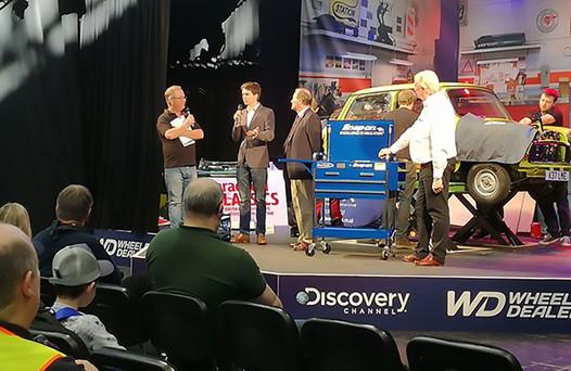 Stewart Parkes - 2017 Winner