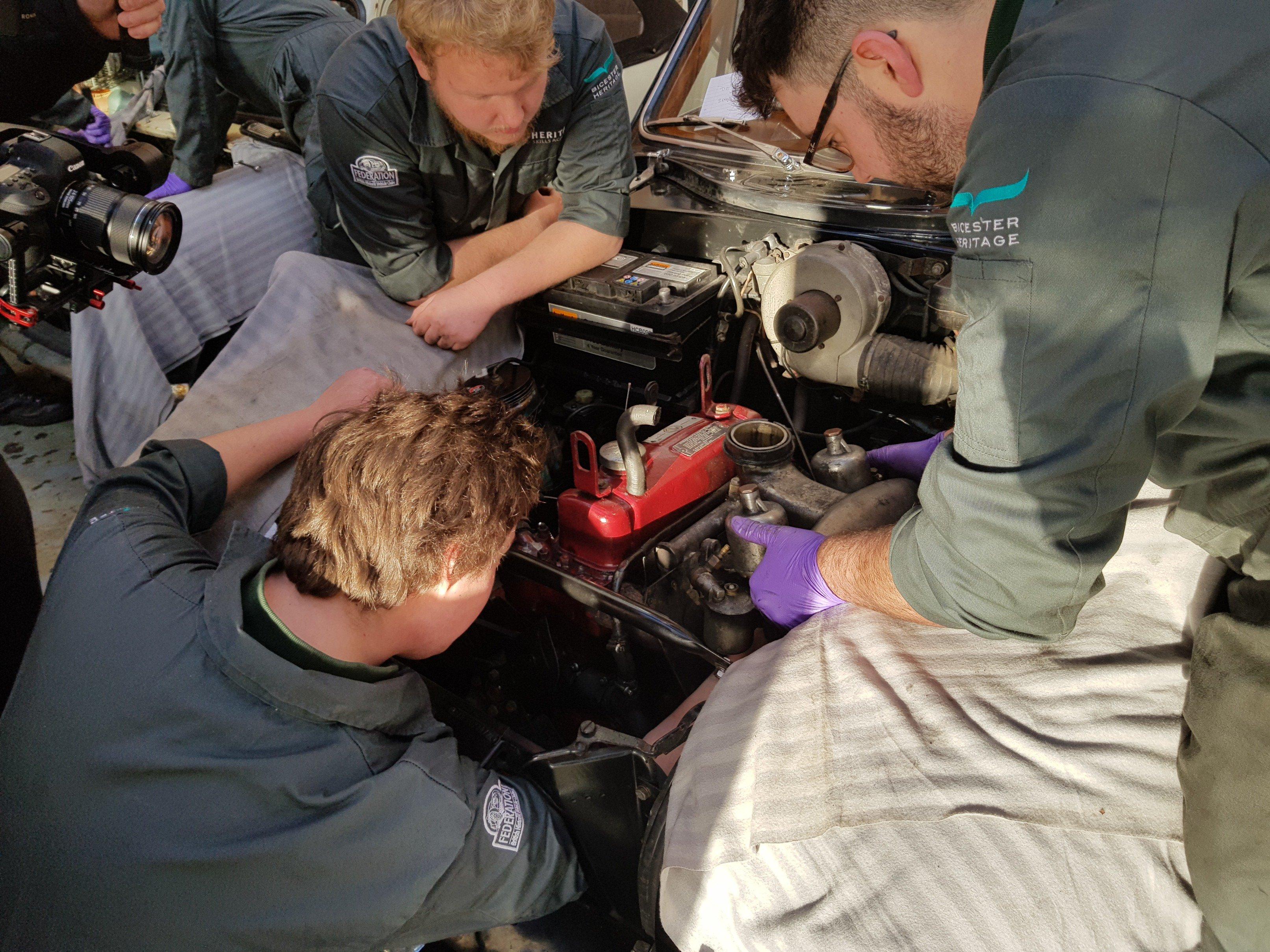 Heritage Skills Academy apprentices