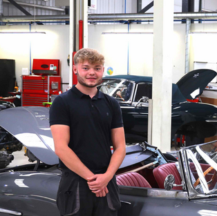 Harry Ruffell-Hazel - Classic Motor Cars - Nominated 2020.