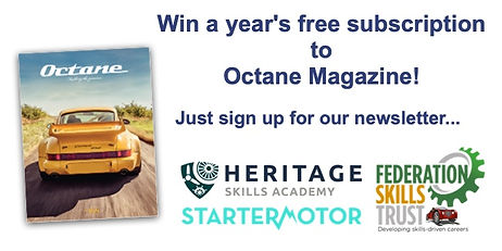 Thank you for entering to win a free subscription to Octane Magazine!
