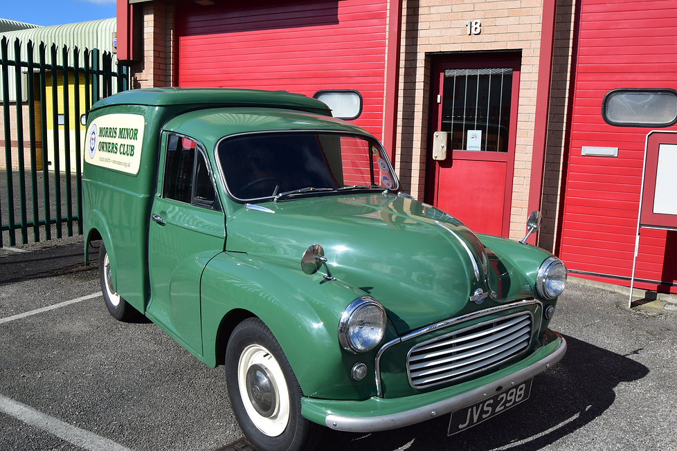 The Morris Minor Owners Club Apprentice of the Year Award