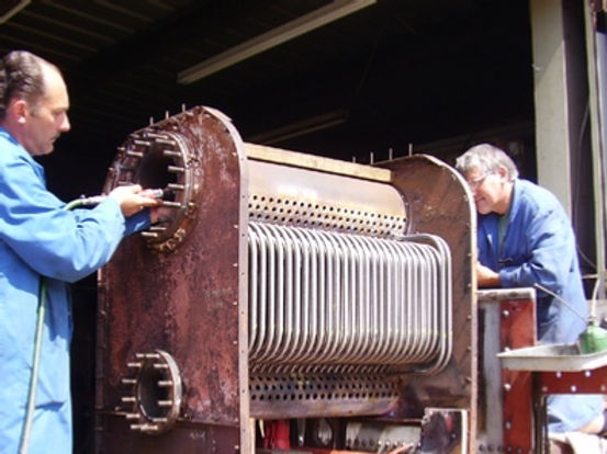 Boiler Washout & Examination short course