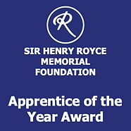 The Sir Henry Royce Memorial Foundation Apprentice of the Year Award