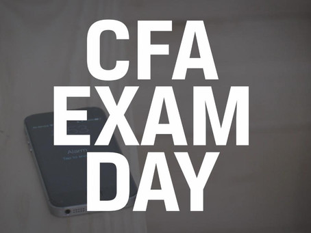 CFA Candidate: U.S. Holiday Study Tips